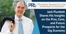 Jack Plunkett Shares His Insights on the Pros, Cons, and Future Prospects for the Gig Economy