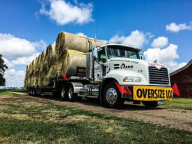 Photo of Farm Rescue hay delivery