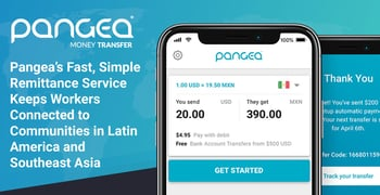 Pangea Is A Remittance Service For Latin America And Asia