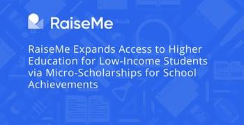 Raiseme Facilitates Micro Scholarships And Access To Higher Education