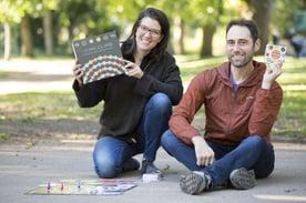 Katherine Cook and Dan Finkel