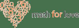 Math for Love Logo