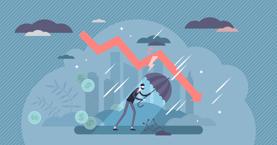Economic Downturn Graphic