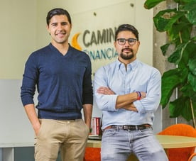Photo of Camino Financial Founders Kenny and Sean Salas