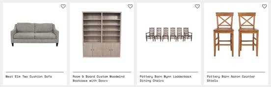 Screenshot of Kaiyo products