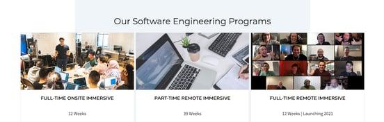 Screenshot of Codesmith programs