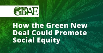 The Green New Deal And Social Equity
