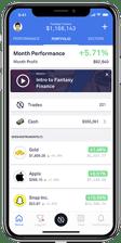 Fantasy Finance Screenshot
