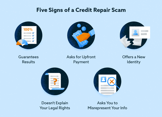 5 Signs of a Credit Repair Scam