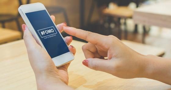 FOMO on mobile