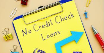 No Credit Check Loan