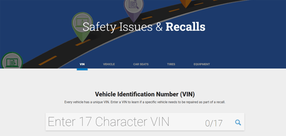 Safety Issues & Recalls