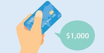 1000 Credit Limit Credit Cards For Bad Credit