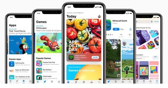 Screenshot of the Apple App Store