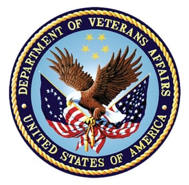 The Department of Veterans Affairs logo