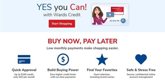 Wards Credit