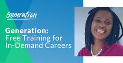 Generation's Free Career Training Bootcamp Can Help Workers Enhance Earnings and Eliminate Debt