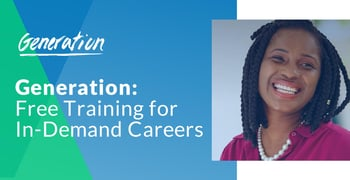 Generation Offers Free Training For In Demand Careers