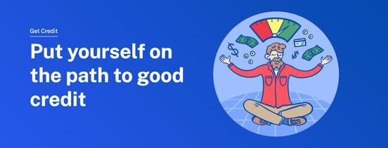 Screenshot of Get Credit program