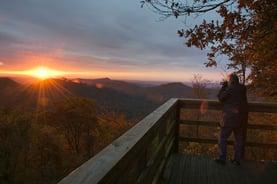 Black Rock Sunset View