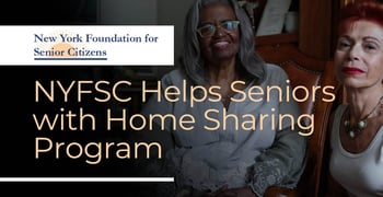 Nyfsc Helps Seniors With Home Sharing Program
