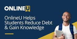OnlineU Helps Students Reduce Debt by Connecting them to Online Programs with the Best Value
