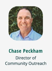 Photo of DebtWave Director of Community Outreach Chase Peckham