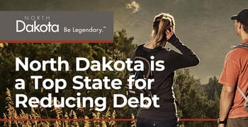 North Dakota Is A Top State For Reducing Debt
