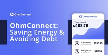 Ohmconnect On Saving Energy And Avoiding Debt