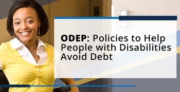 Odep Helping People With Disabilities Avoid Debt