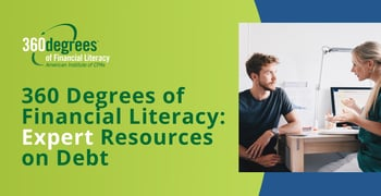 360 Degrees Of Financial Literacy Provides Expert Resources On Debt
