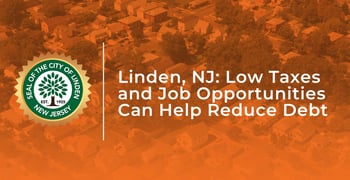 Linden Nj Offers Low Taxes And Jobs To Help Reduce Debt