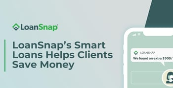 Loansnaps Smart Loans Helps Clients Save Money