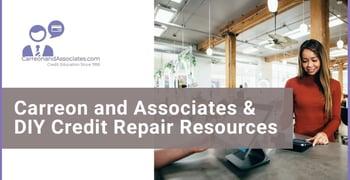 Carreon And Associates And Diy Credit Repair Resources