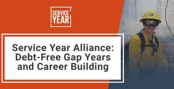 Service Year Alliance Promotes Debt Free Gap Years And Career Building