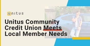 Unitus Community Credit Union Meets Local Member Needs