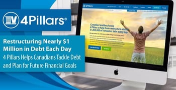 4 Pillars Helps Canadians Tackle Debt And Plan For The Future