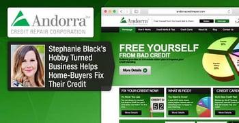 Andorra Credit Repair: Stephanie Black's Hobby Turned Business Helps Home-Buyers Fix Their Credit