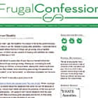 Frugal Confessions