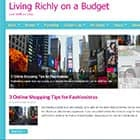 Living Richly On a Budget