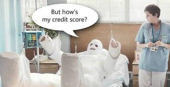 #1 Symptom of Medical Debt: Lower Credit Score
