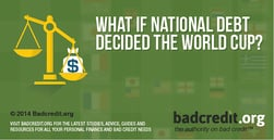 What If National Debt Decided the World Cup?