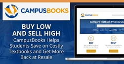 Buy Low and Sell High — CampusBooks Helps Students Save on Costly Textbooks and Get More Back at Resale