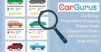 Cargurus Proprietary Shopping Engine