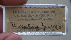 1928 — The Charga-Plate