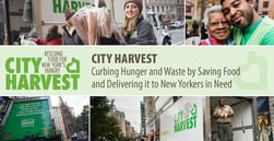 City Harvest — Curbing Hunger and Waste by Saving Food and Delivering it to New Yorkers in Need