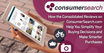 Consumersearch Consolidated Reviews Help Simplify Buying Decisions