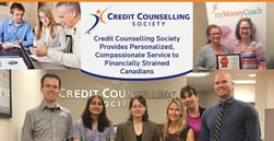 Credit Counselling Society Provides Personalized, Compassionate Service to Financially Strained Canadians