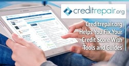 CreditRepair.org is a Valuable Resource for Improving Your Credit Score — With an eBook, Tools, and Guides
