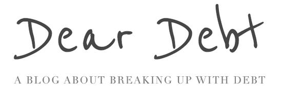Dear Debt Logo
